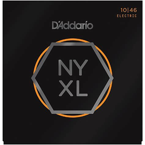 d addario nyxl1046 light electric guitar strings