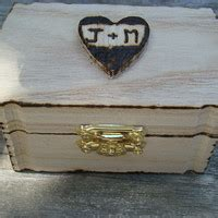 wedding ring box tie the knot box from patbarnes etsy