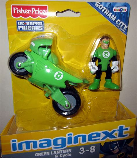 green lantern cycle imaginext toys r us exclusive