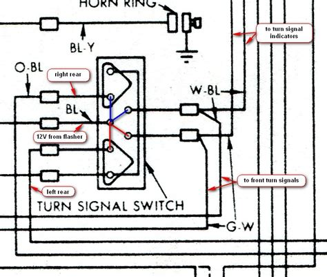 1960 Thunderbird Wiring Schematic by Brake Lights 62 Vintage Thunderbird Club International