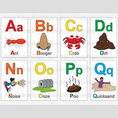 Abc Fun Icky Flashcards Download Fun Icky Kids Stuff For