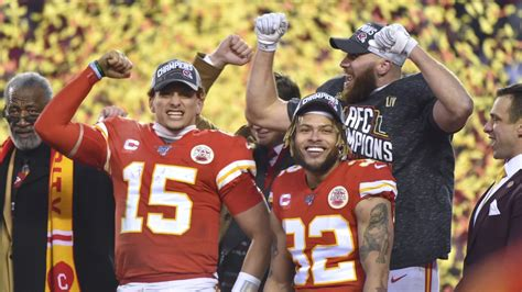 4th And 1 Chiefs End 50 Year Drought To Reach Super Bowl Liv