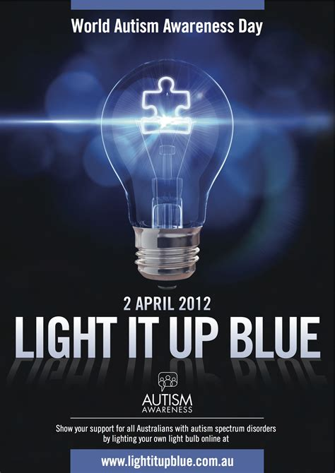 light it up blue for autism awareness 2012 gabe