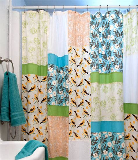 sewing 101 how to make a shower curtain design sponge