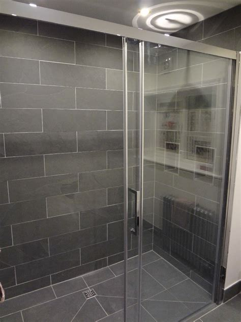 Fantastic Bathrooms just finished in Grey Slate and