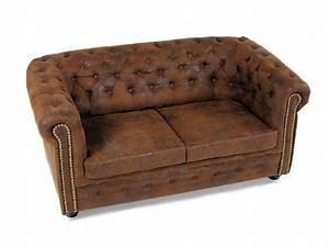 Chesterfield 2er Sofa : chesterfield 2er sofa gobi braun ~ Sanjose-hotels-ca.com Haus und Dekorationen