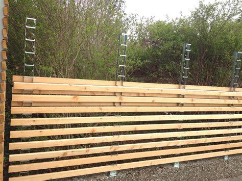 Gartenzaun Sichtschutz Holz by Gartenzaun Holz Selber Bauen