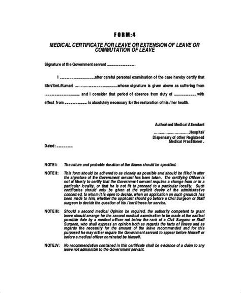 medical certificate format  sick leave task list