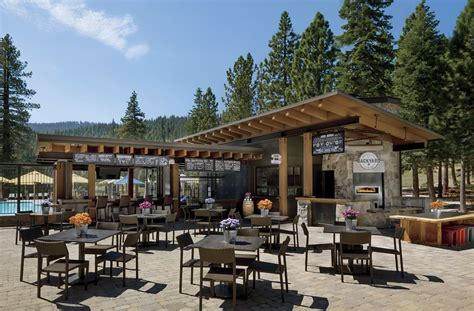 Backyard Bbq Restaurant by Backyard Bar Bbq The Ritz Carlton Lake Tahoe