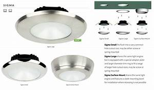White led dimmable sigma ceiling lights