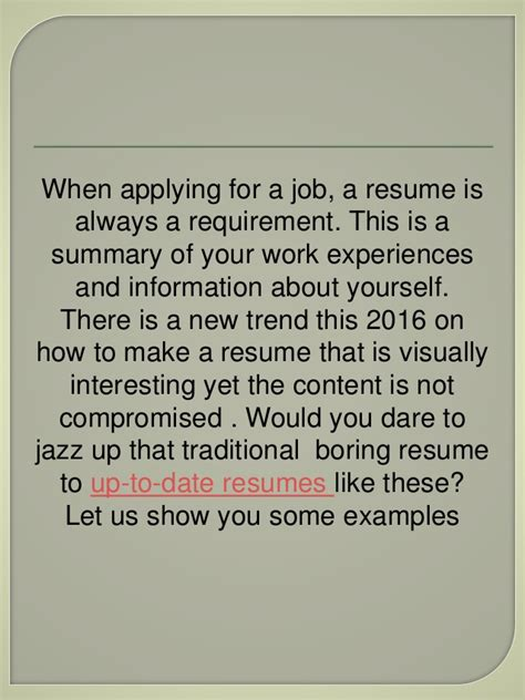 most extraordinary resume exles