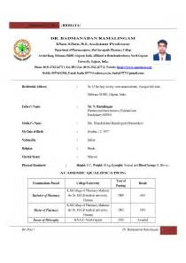 resume sle for lecturer in engineering college biotech resume sle