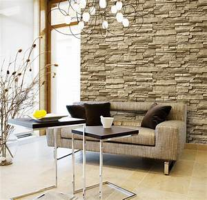 Brick Wallpaper / Vinly Wallpaper / 3d Wall Paper / Korean ...