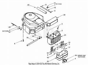 Mtd 13au608h016  2000  Parts Diagram For Engine Accessories