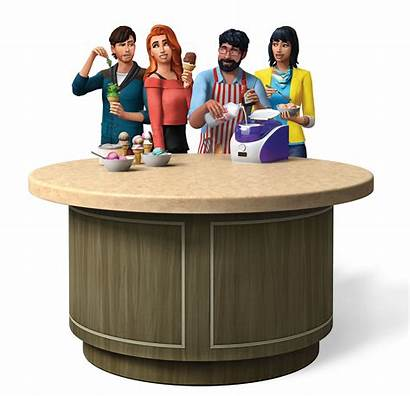 Sims Cool Kitchen Stuff Render Pack Coole