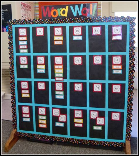 word wall mrs byrd s learning tree word wall