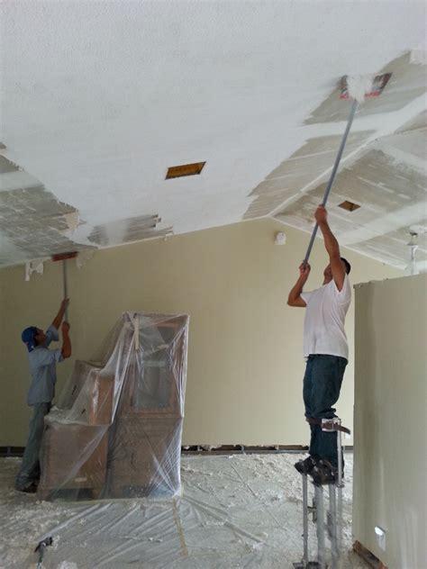 popcorn ceiling removal popcorn ceiling repair west
