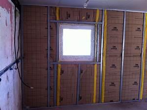 Doubler Un Mur En Placo Sur Rail : encadrement de fenetre en placo 20 messages ~ Dode.kayakingforconservation.com Idées de Décoration