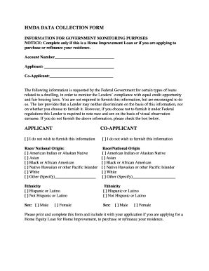 hmda data collection form 20 printable sle statement of account for collection