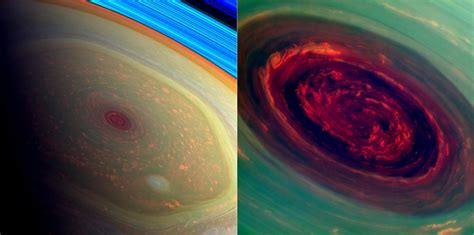 The Storm System at Saturn's North Pole