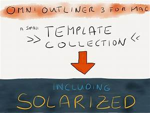 omnioutliner 3 template pack rocketink With omnioutliner templates