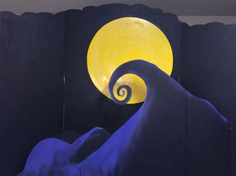 Nightmare Before Photo Backdrop by The Nightmare Before Backdrop Craft Projects