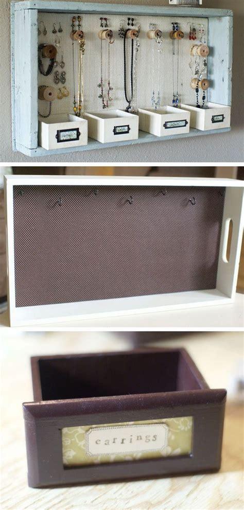 diy jewelry storage ideas  small bedrooms jewelry