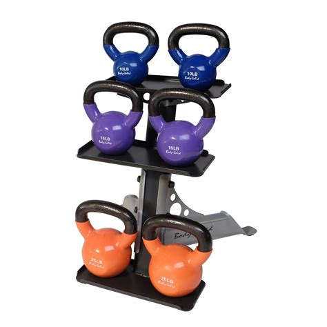kettlebell rack body solid tier kettle bell kettlebells amazon weights storage accessories racks