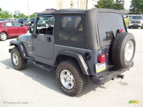 2001 steel blue pearl jeep wrangler sport 4x4 50380613 photo 2 gtcarlot car color