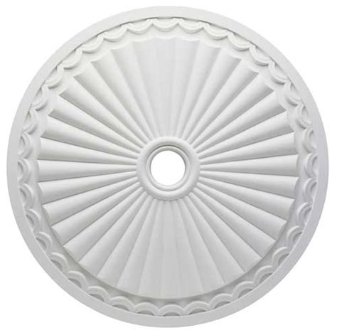 Split Ceiling Fan Medallions by Westinghouse Lighting 7775900 Circolare Polyurethane