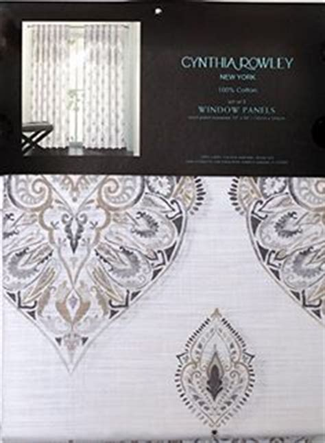 cynthia rowley new york window curtains miller marchesa paisley medallion pair of curtains