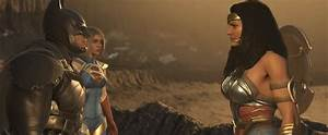 INJUSTICE 2 Supergirl. Wonder Woman. Batman. | SUPERGIRL☀️ ...