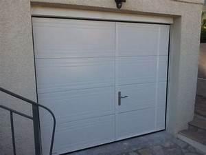 porte de garage sectionnelle plafond avec ou sans With porte de garage sectionnelle avec porte d entrée pvc avec volet roulant