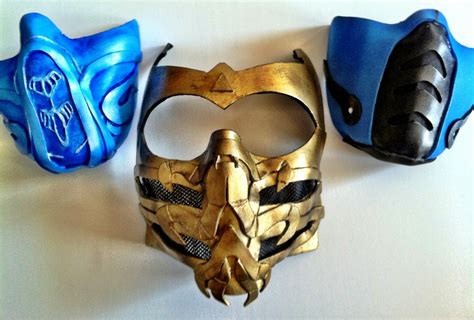 Mortal Kombat Masks By Keykee88 On Deviantart