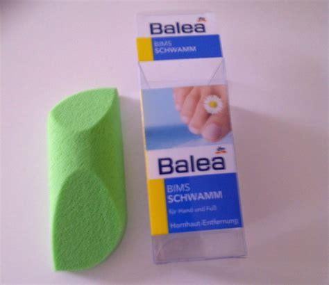 Test - Spezialprodukte - Balea Bimsschwamm für Hand und