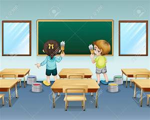 Student washing tables clipart - BBCpersian7 collections