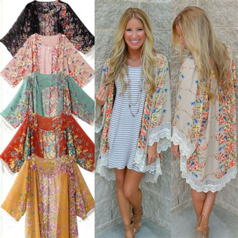 hippie sweaters clothing 2016 retro boho floral