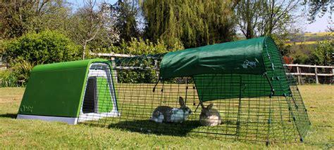 eglu go rabbit hutch plastic house and run for rabbits