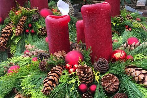 Weihnachtsgestecke Selber Machen by Weihnachtsgesteck Schnell Und Einfach Selber Herstellen