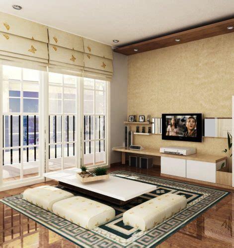 menata desain ruang tamu kursi sofa renovasi rumahnet