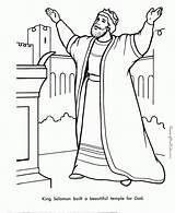 David Coloring King Pages Bible sketch template