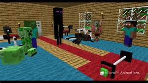 Monster School Minecraft Animation