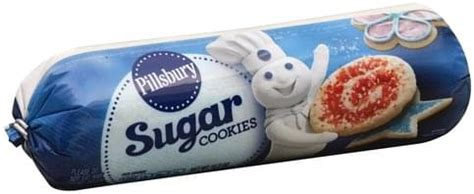 If you like a sweeter cookie, add a little extra sugar.brif the dough is too crumbly add a teaspoon of water, and if still too crumbly add another teaspoon and knead it. Pillsbury Sugar Cookies - 16.5 oz, Nutrition Information | Innit