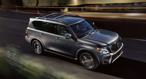 pathfinder nissan black 2019 nissan armada review new suv is getting a nismo