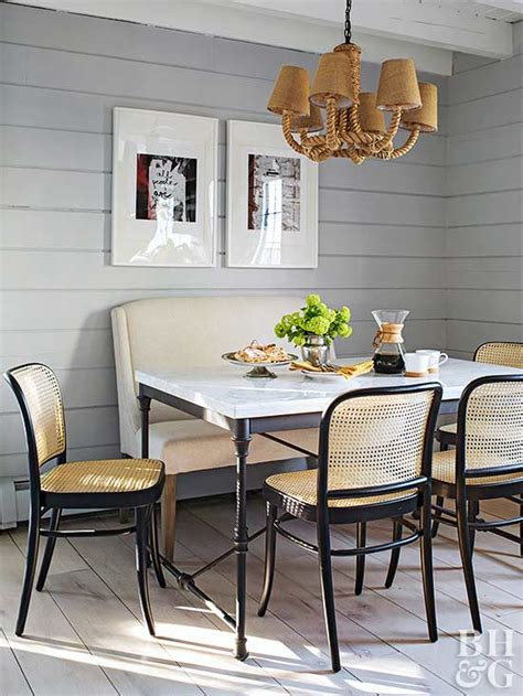 small space dining rooms  homes gardens