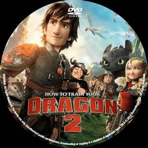 How to Train Your Dragon 2 - DVD Covers & Labels by CoverCity