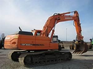 Doosan Dx300lc Excavator Service Repair Manual