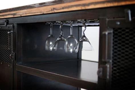 custom  industrial home bar reclaimed wood coffee