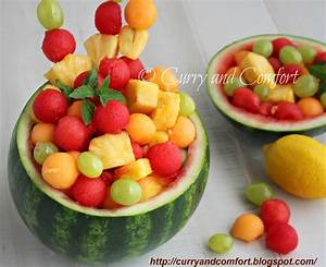 Kitchen Simmer: Fruit Salad in Watermelon Bowl