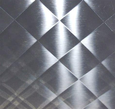 quilted mirror stainless steel   backsplash art
